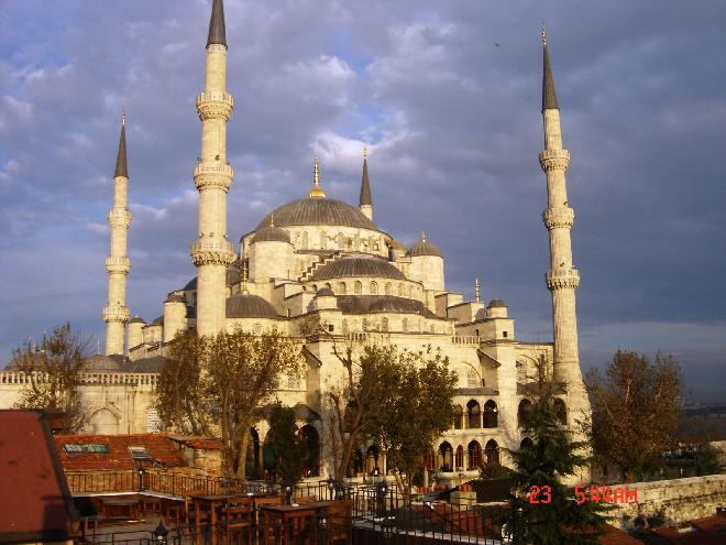 The Blue Mosque-Sultanahmet Camii