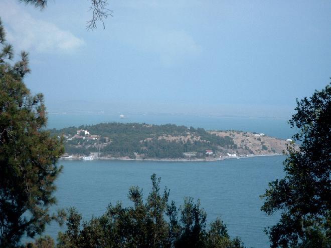 View from Buyukada