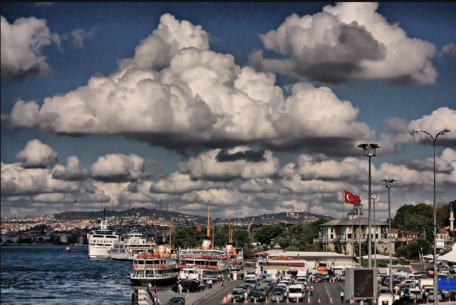 bulutlar harika--İstanbul