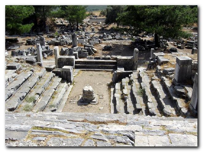 Priene – Bouleuterion