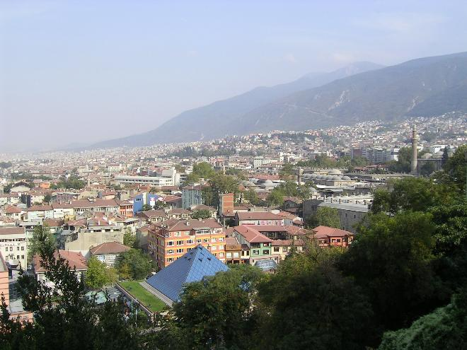 Bursa fromthe park 1