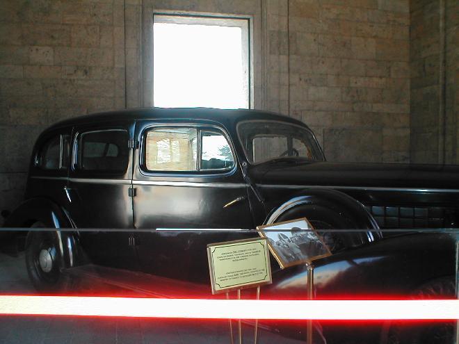 Ataturk's car