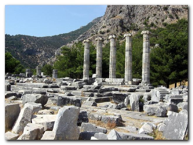 Priene – Temple of Athena