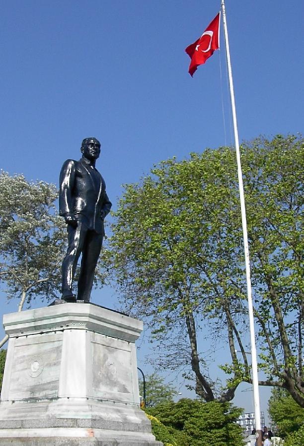 Ataturk statue