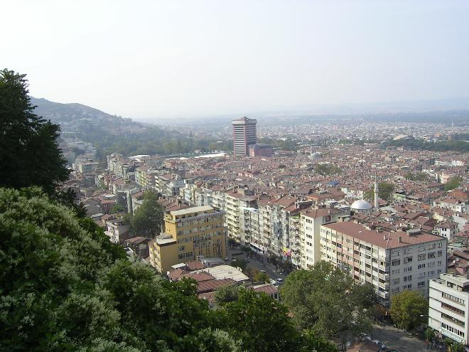 Bursa from the park 4