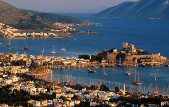 Bodrum castle of Rodos knights
