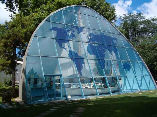"Naval Museum -""Uzaklar"" sail boat"