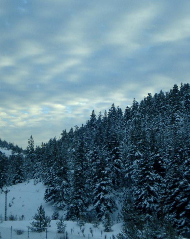beauty of turkish winter