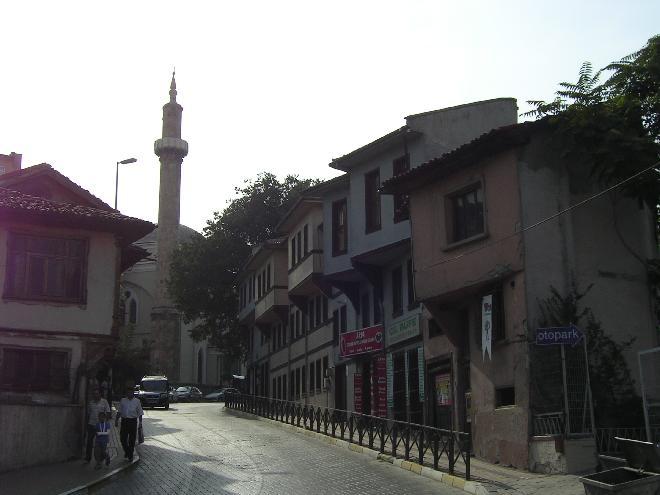 Streets and houses of Bursa