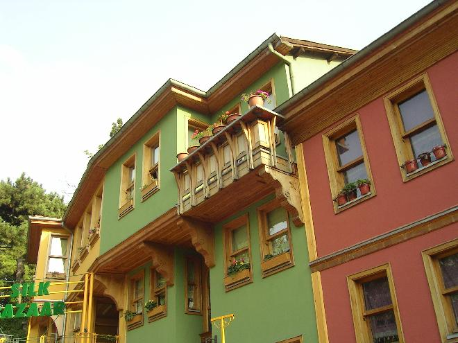 Streets and houses of Bursa 2