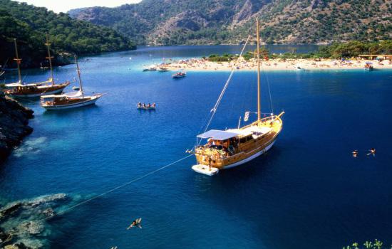 Yachting in Oludeniz, Fethiye