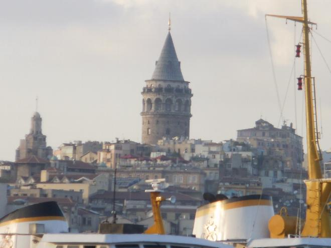Galata from the sea