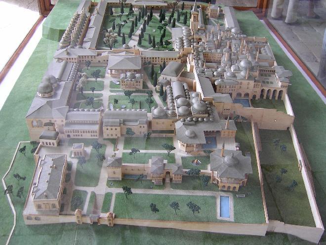 The model of Topkapi palace