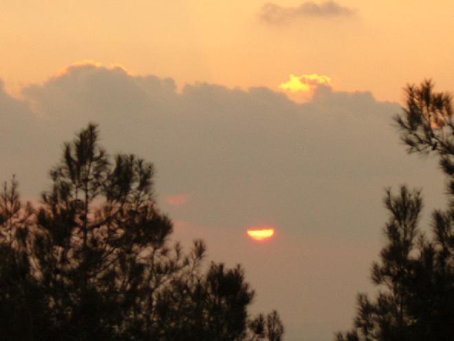 Sunset in Gallipoli