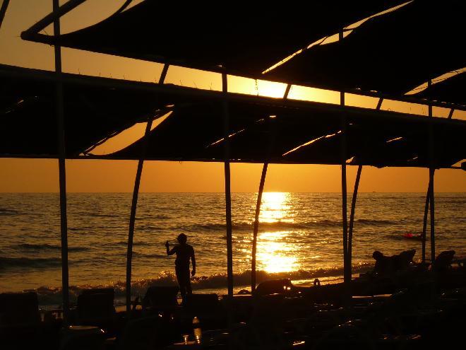 Sunset in Avsallar