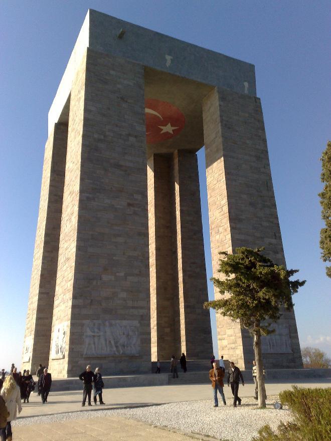Çanakkale Anýtý - Çanakkale Memorial