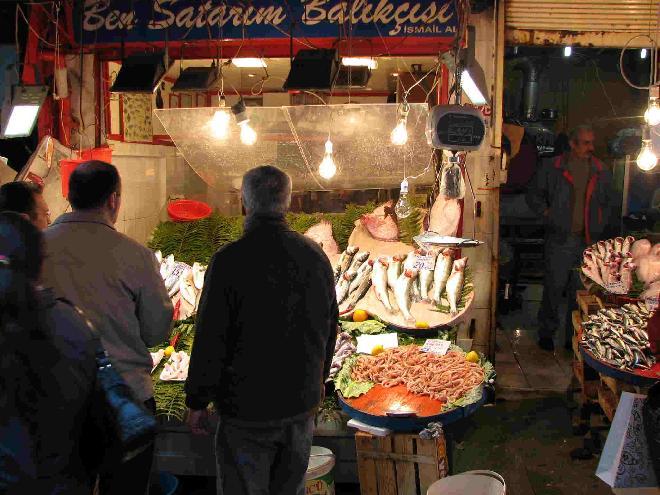Fish Market in Kadıköy