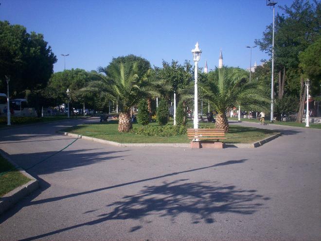Next to Topkapi Palace