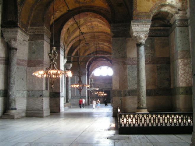 Marble room - Hagia Sofia