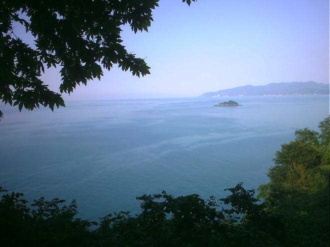 Black sea's only island....