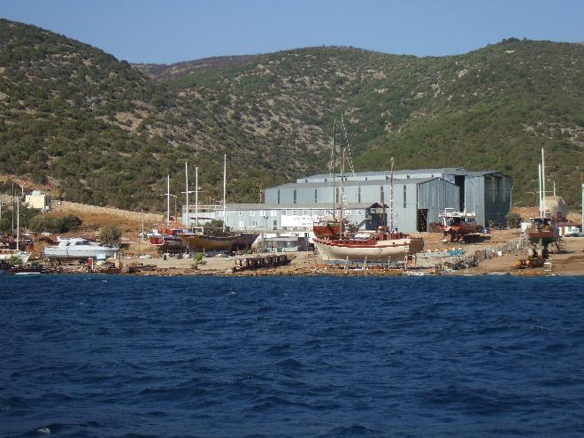 Gület building and boat repairs