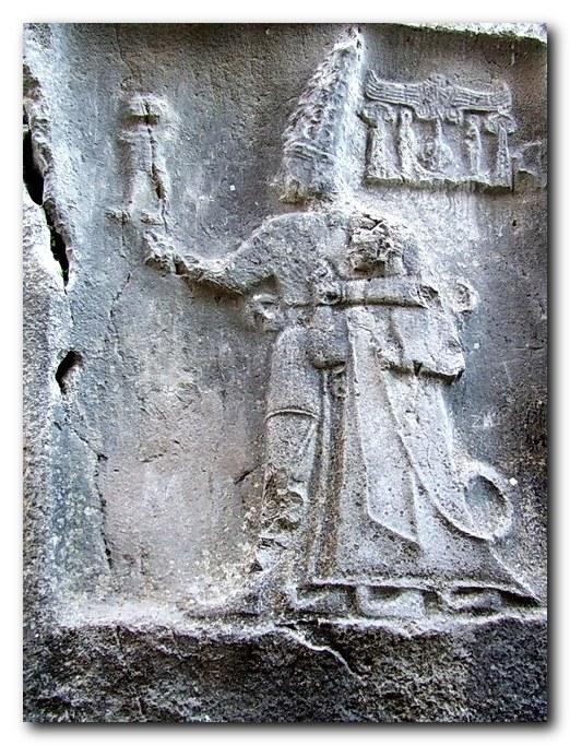 Yazýlýkaya - Relief of King