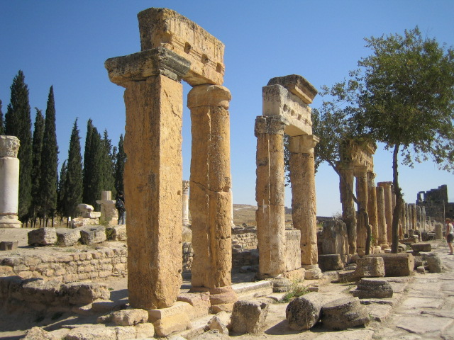 Remains in Hierapolis