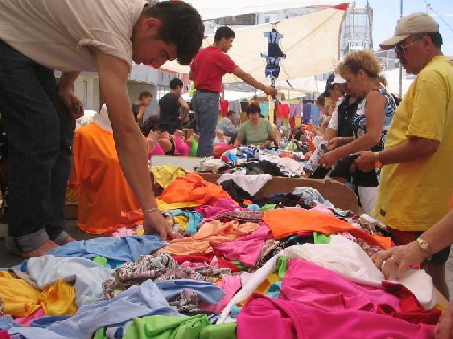 Bazaar in Erdek