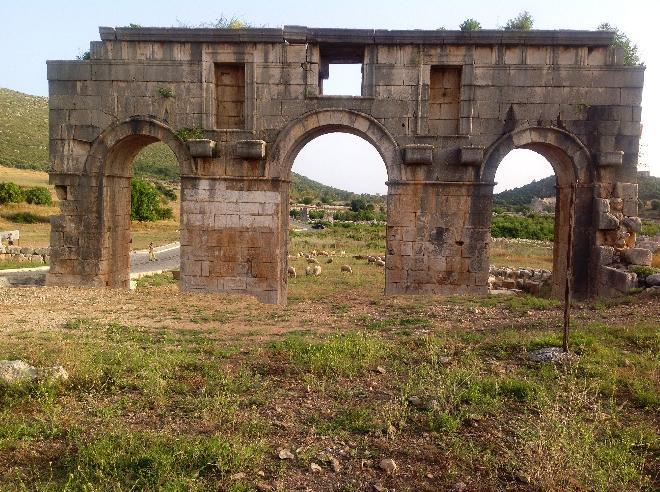 Triumphal Arch of Metius Modestus.