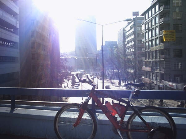 Biking in Ankara