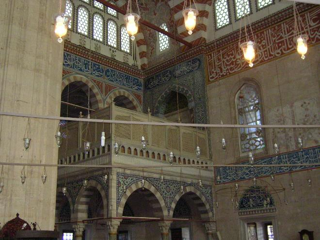 The inside of Selimiye Camii 9