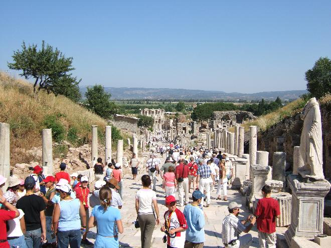 Curetes Street-view from top