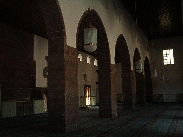 Ulu Camii inside